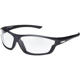 UVEX sportstyle 611 VL Glasses, black mat/smoke